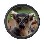 Lemur Large Wall Clock