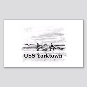 USS Yorktown Sticker (Rectangle)