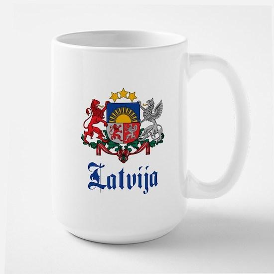 Latvia Large Mug