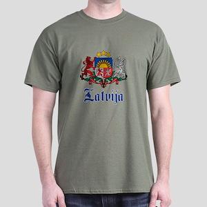 Latvia Dark T-Shirt