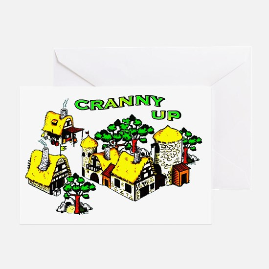 Cranny Up ! Greeting Card