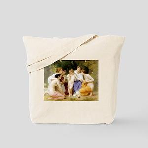 L'Admiration/Work Interrupted Tote Bag