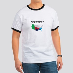 Natural Disasters of the United States. T-Shirt
