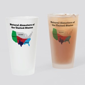 Natural Disasters of the United Sta Drinking Glass