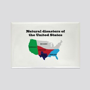 Natural Disasters of the United States. Magnets