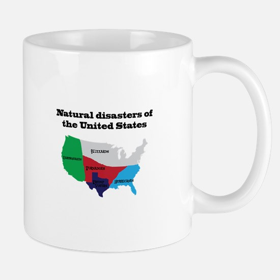 Natural Disasters of the United States. Mugs