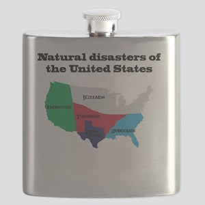 Natural Disasters of the United States. Flask