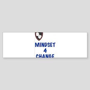 Mindset 4 Change Bumper Sticker