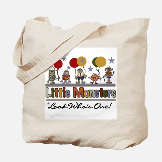 Little Monsters 1st Birthday Tote Bag