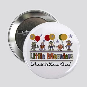 Little Monsters 1st Birthday Button