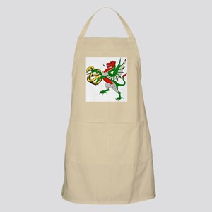 Fantasy dragon with serpent BBQ Apron