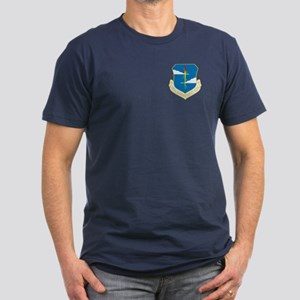380th Bomb Wing Men's Fitted T-Shirt (Dark)