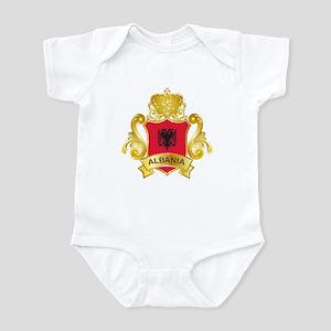 Gold Albania Infant Bodysuit