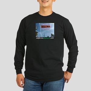 Chemtrails Long Sleeve Dark T-Shirt