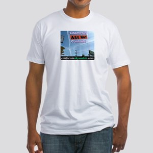 Chemtrails Fitted T-Shirt