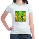 Green Totonac Jr. Ringer T-Shirt