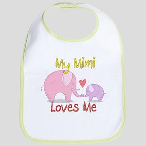 My Mimi Loves Me Cotton Baby Bib
