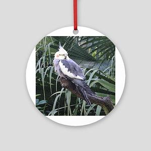 Cockatiel Ornament (Round)