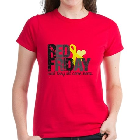Red Shirt Women's Dark T-Shirt