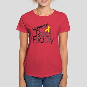 Red Shirt IV Women's Dark T-Shirt