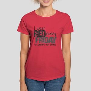 Red Shirt VI Women's Dark T-Shirt