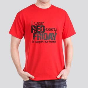 Red Shirt VI Dark T-Shirt