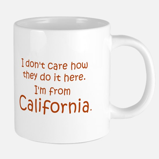 From California 20 oz Ceramic Mega Mug
