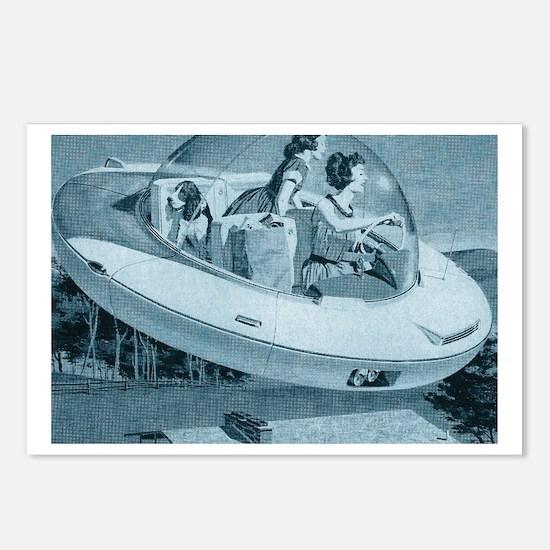 'Space Ace' Postcards (Pkg of 8)