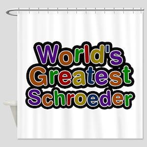World's Greatest Schroeder Shower Curtain