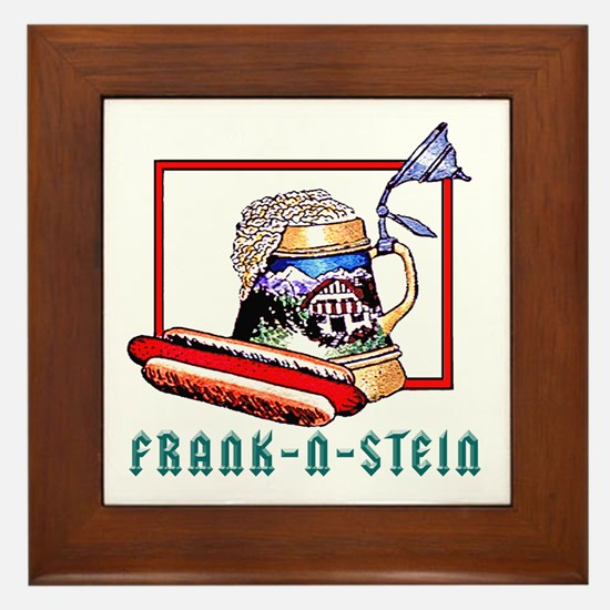 """""""FRANK-N-STEIN"""" Framed Tile"""