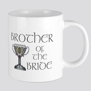 Celtic Brother Bride 20 oz Ceramic Mega Mug
