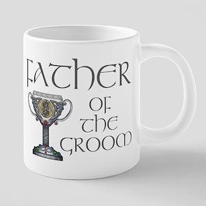 Celtic Father Groom 20 oz Ceramic Mega Mug