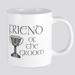 Celtic Friend Groom 20 oz Ceramic Mega Mug