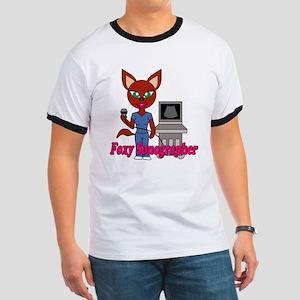 """Foxy Sonographer"" Ringer T"