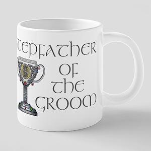 Celtic Stepfather Groom 20 oz Ceramic Mega Mug