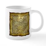 Celtic Letter H 20 oz Ceramic Mega Mug