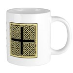 Celtic Square Cross 20 oz Ceramic Mega Mug