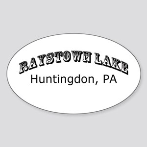 Raystown lake Sticker (Oval)