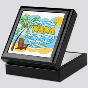 Cool Nana Keepsake Box