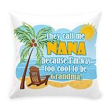 Nana Burlap Pillows