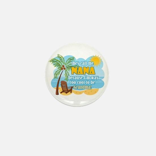 Cool Nana Mini Button