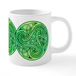 Celtic Triskele 20 oz Ceramic Mega Mug