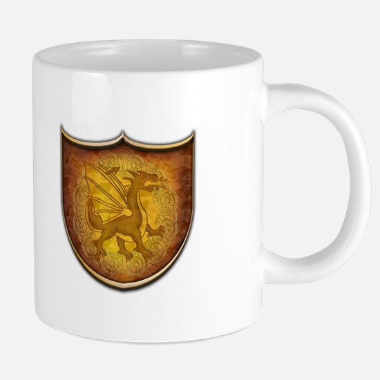Copper Dragon Shield 20 oz Ceramic Mega Mug