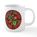 Celtic Autumn Leaves 20 oz Ceramic Mega Mug