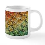 Celtic Leaf Tesselation 20 oz Ceramic Mega Mug