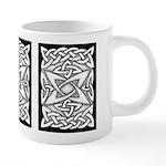 Celtic Knotwork Quasar 20 oz Ceramic Mega Mug