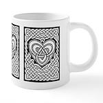 Celtic Knotwork Heart 20 oz Ceramic Mega Mug