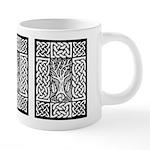 Celtic Knotwork and Bare Branches 20 oz Ceramic Me