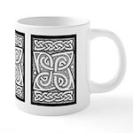 Celtic Knotwork Cloverleaf 20 oz Ceramic Mega Mug