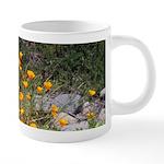 California Poppies 20 oz Ceramic Mega Mug